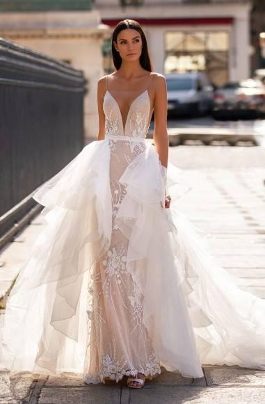 Свадебные оригинальные платья трансформеры – тренд модного сезона