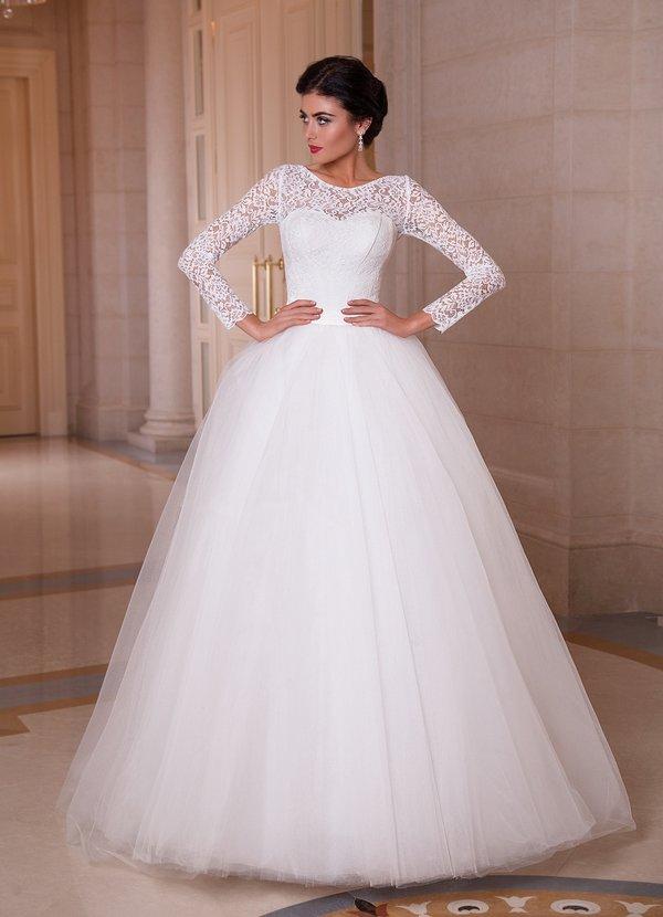 Кружевная сказка для модных свадебных платьев