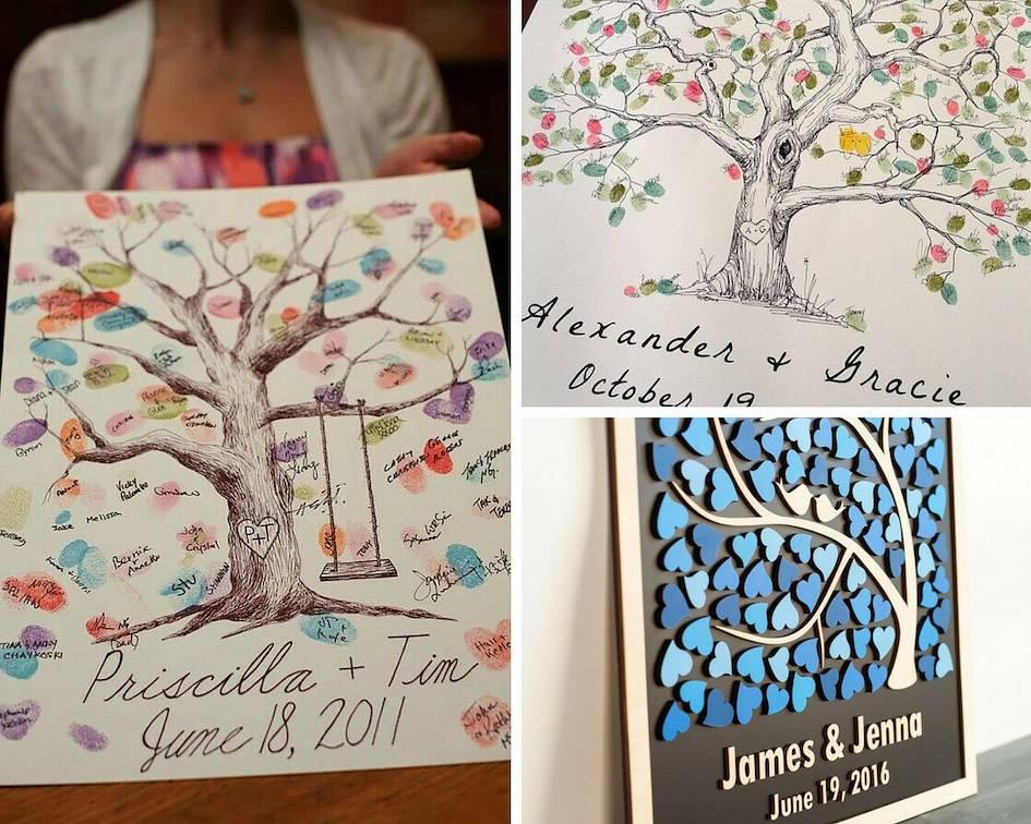 Книга пожеланий на свадьбу (39 фото): как сделать свадебный альбом от друзей своими руками? оформление страниц и листов в технике скрапбукинг