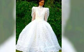 Как постирать свадебное платье в домашних условиях