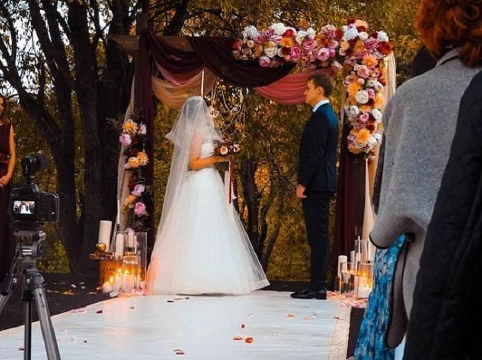 Свадьба на природе: организация и оформление, советы и идеи