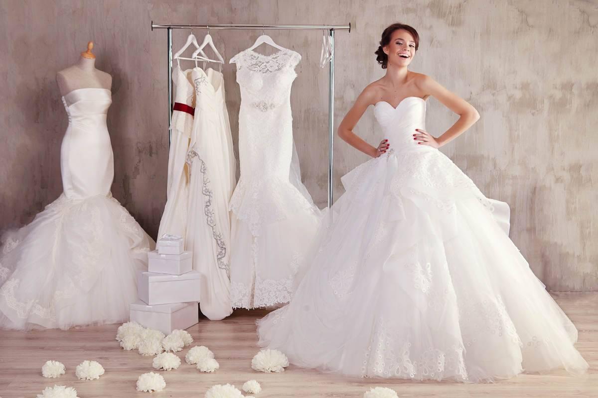 Отпаривание свадебных платьев
