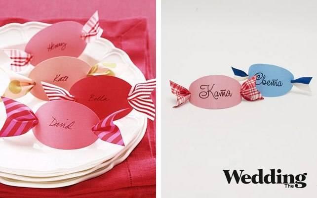 Рассадочные карточки на свадьбу, как сделать самим