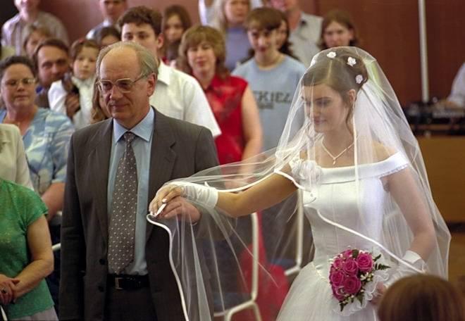 Фотографии с обряда венчания
