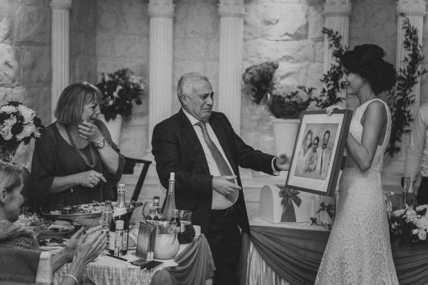 Благодарность и слова родителям на свадьбе