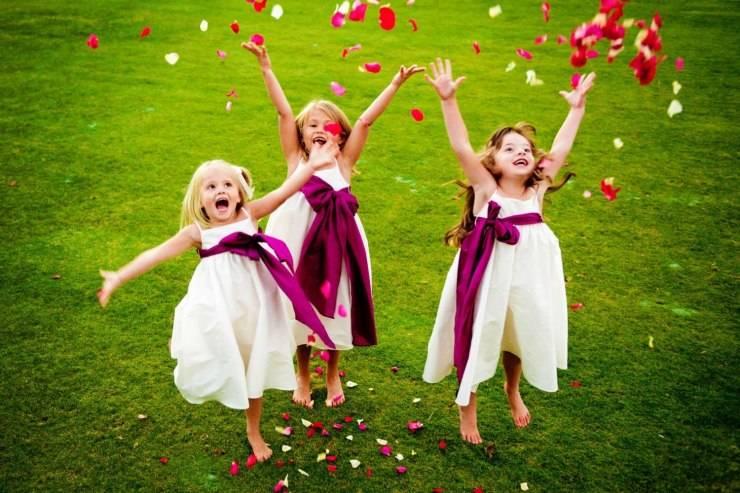Чем занять детей на свадьбе: идеи