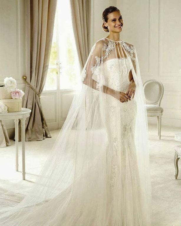 Болеро для свадебного платья: как подобрать идеальный аксессуар?