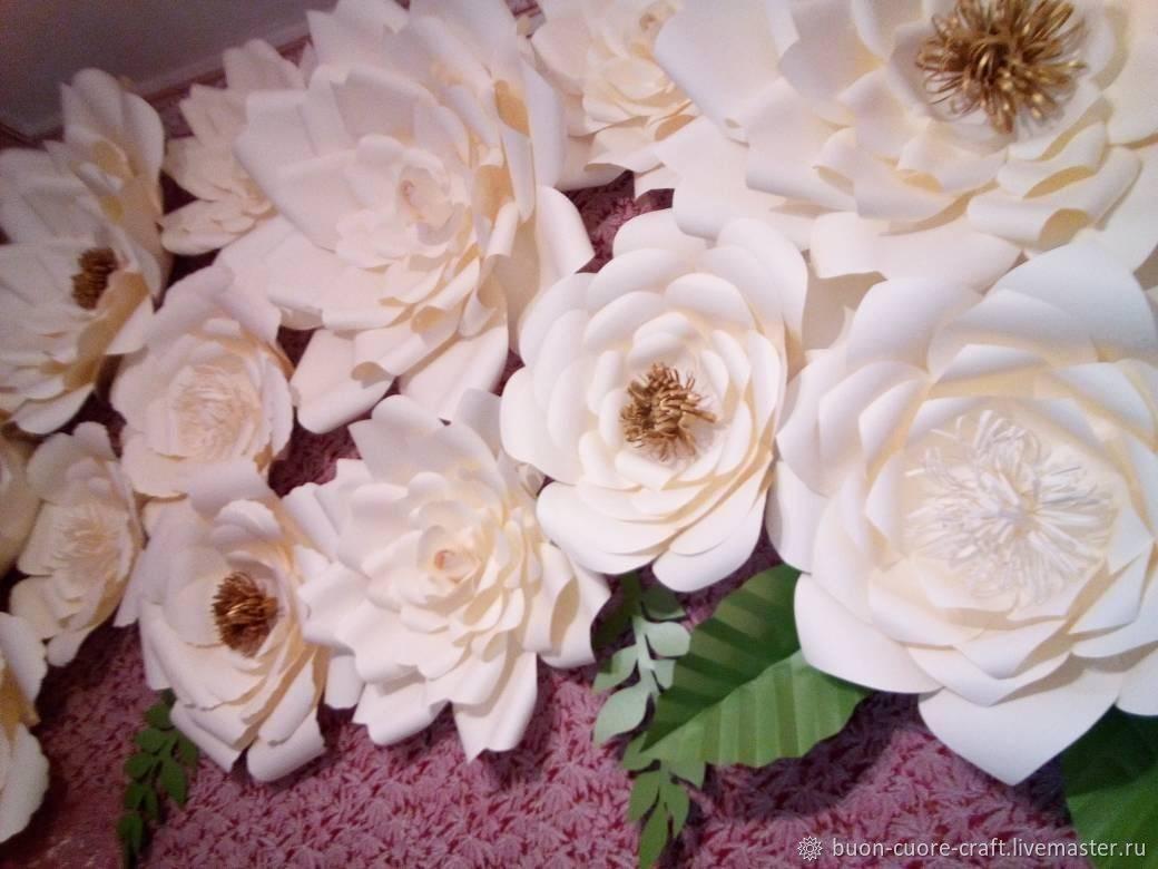 Как сделать бумажные цветы? оформление бумажными цветами свадьбы