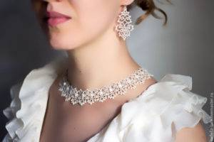 Серьги – изысканное дополнение свадебного образа