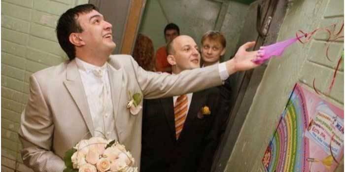 Сценарий выкупа невесты «вступительные экзамены» - свадебный портал wewed.ru