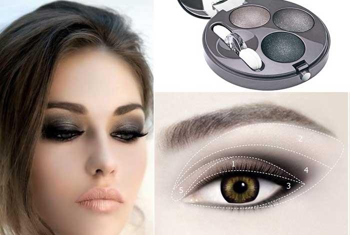 Техника и виды свадебного макияжа с фото и видео