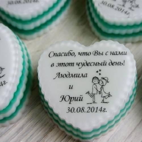Бонбоньерки на свадьбу  что положить в бонбоньерку