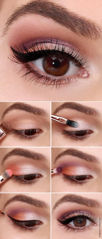 Макияж для брюнеток — техника нанесения и виды. макияж для брюнеток в зависимости от природных данных. как правильно сделать макияж дома – пошаговая инструкция (90 фото)