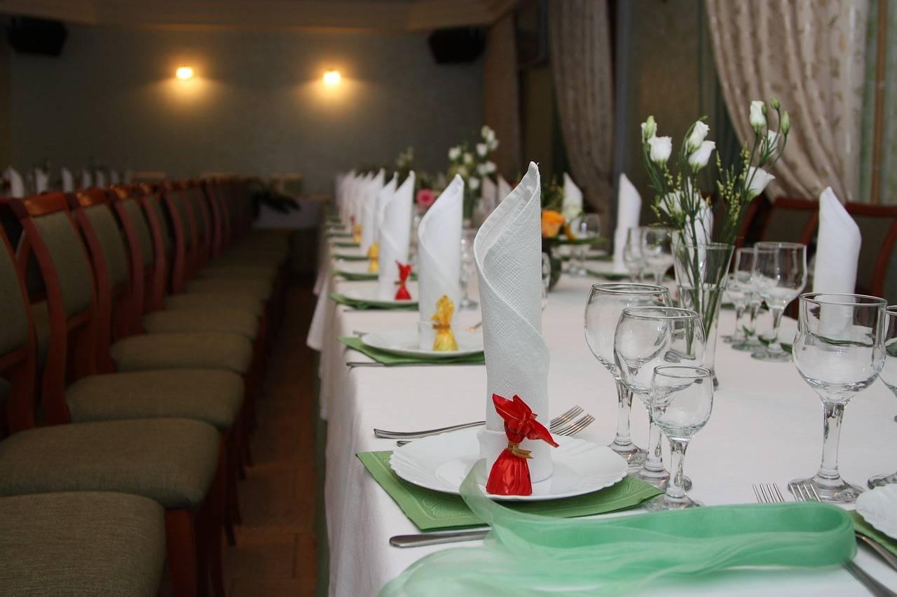 Декор свадебного стола: идеи
