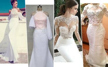 Каким должно быть платье для венчания в церкви?