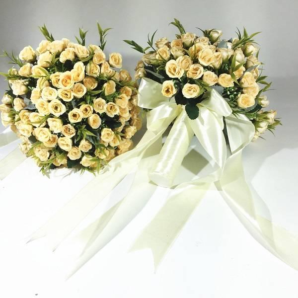 Как сделать свадебный букет: букет невесты из живых цветов своими руками, пошаговая инструкция