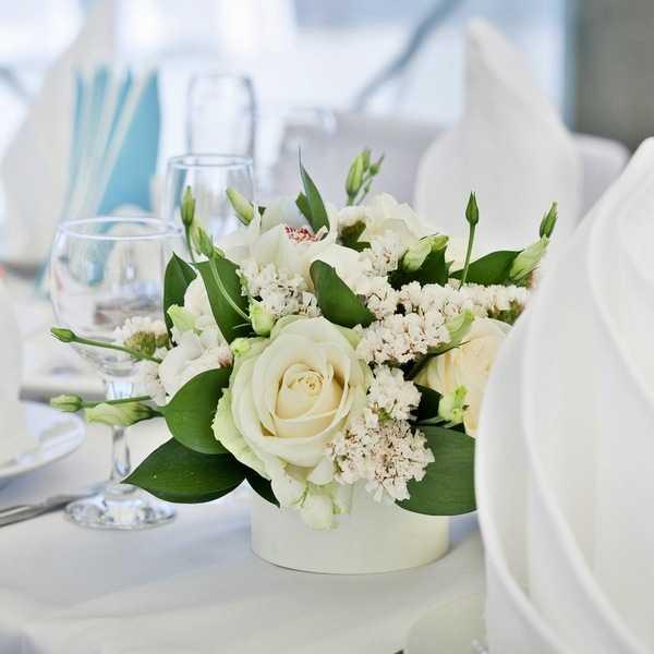 Основные этапы декорирования и оформления свадебного стола