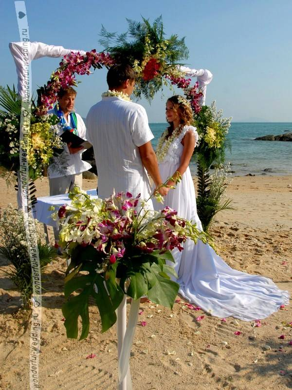 Свадебная церемония в тайланде: нюансы организации