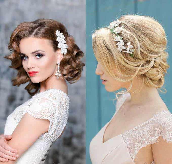 Свадебные прически 2019: модные тенденции и новинки