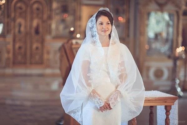Венчание, что надеть? - венчальные накидки на голову - запись пользователя кристина (kristinia) в сообществе религия и культура - babyblog.ru