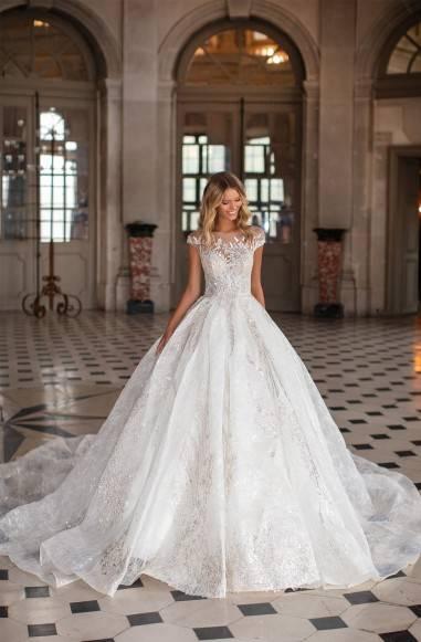Ткани для свадебных платьев для лета и зимы