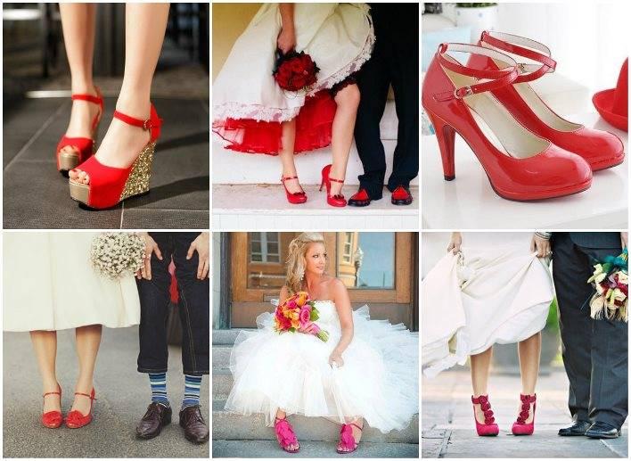 Красные туфли (125 фото): кому подойдут женские модели на высоком каблуке, с какими колготками носить обувь на танкетке и бархатную