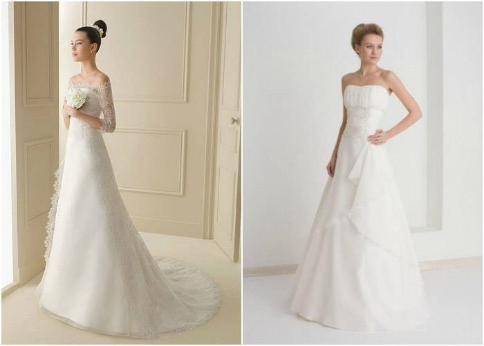 Какое выбрать свадебное платье для полной девушки: советы невестам