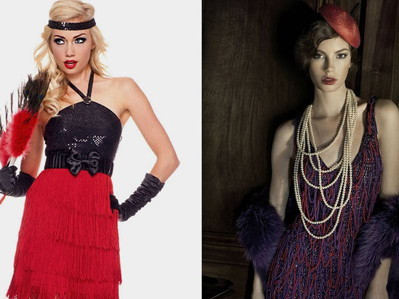 Платья в стиле чикаго: все новое – это хорошо забытое старое