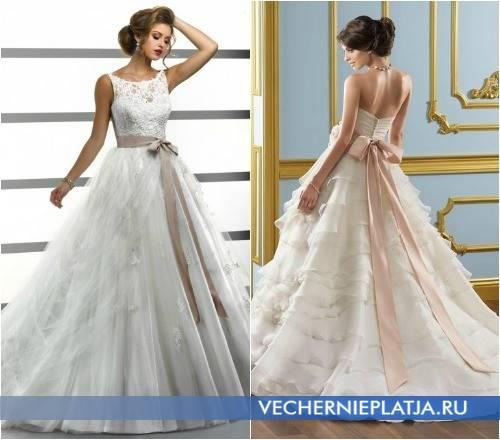 Особенности свадебных платьев «годе»