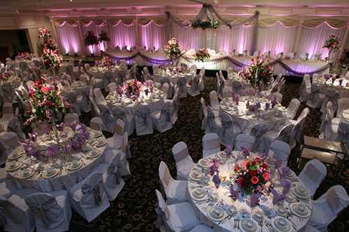 Современное оформление свадебного зала своими руками