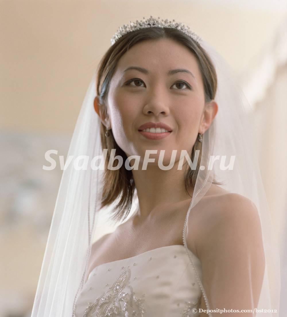 Виды фаты для невесты: разъясняем нюансы