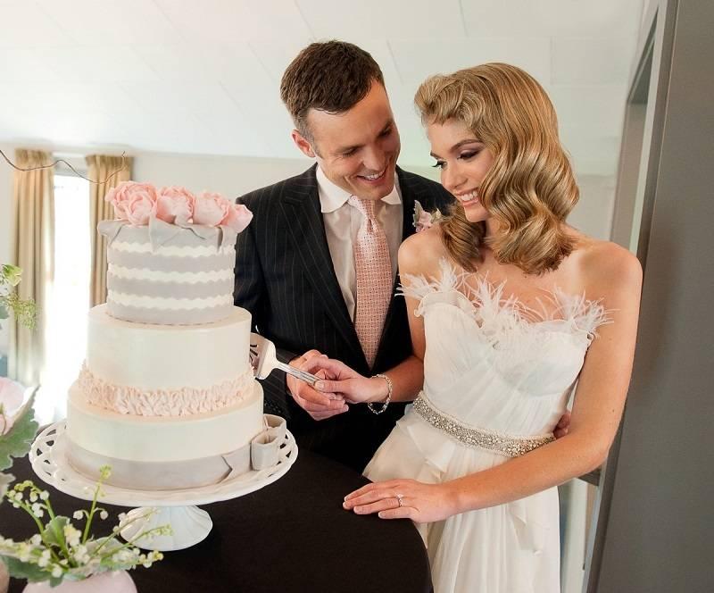 Украшение свадебного торта: свадебный шедевр своими руками