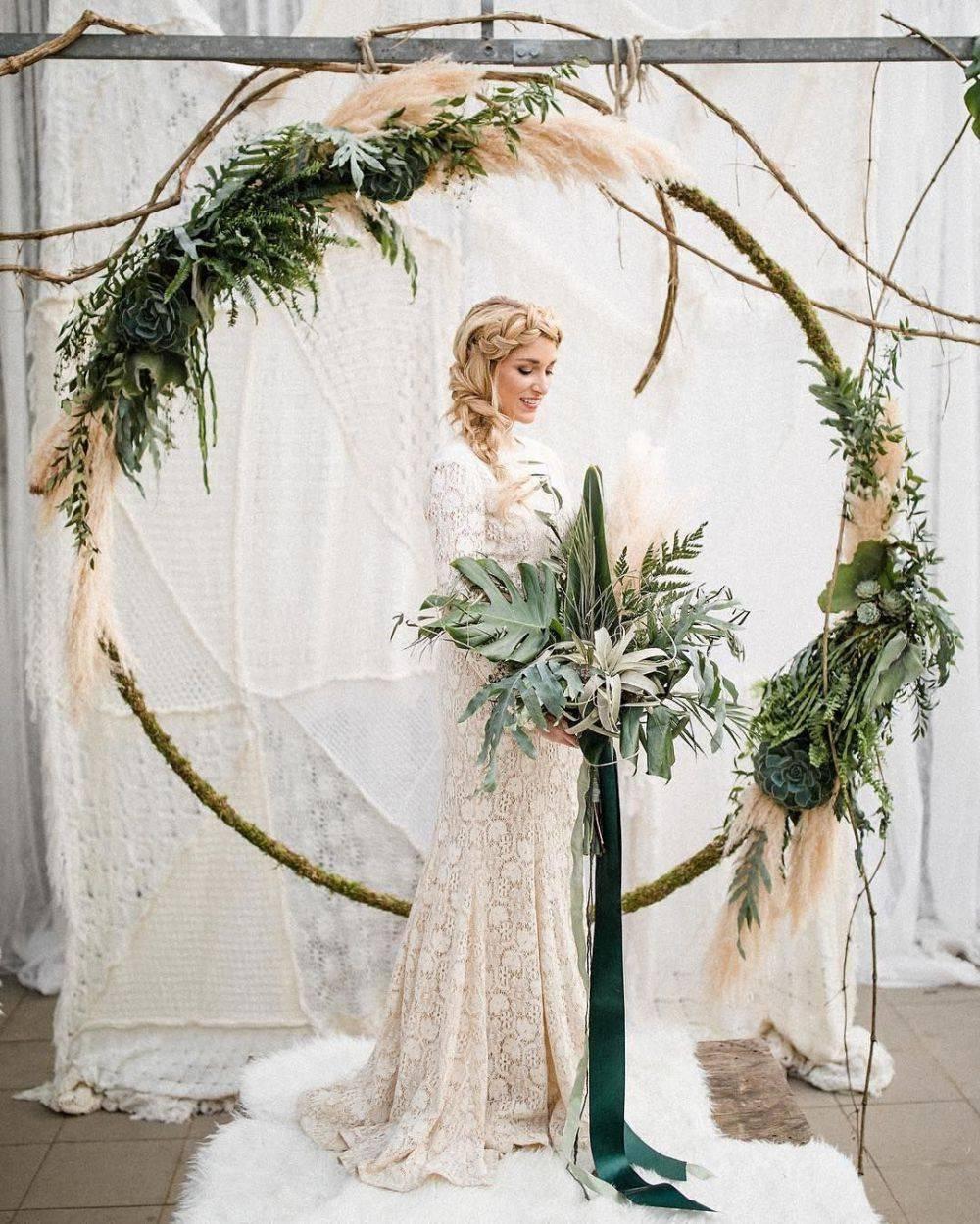 Свадебные арки фото  арка из цветов для свадьбы