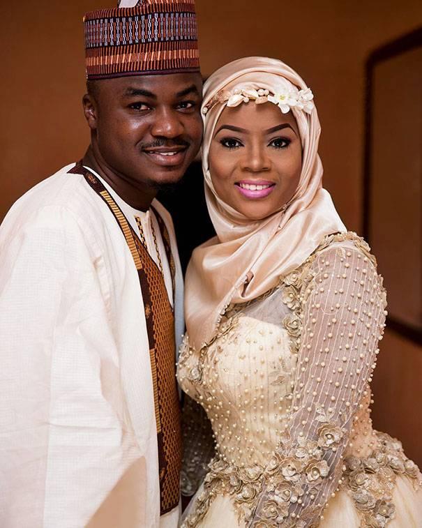 Мусульманские свадебные платья: фасоны, цвет и аксессуары (фото)