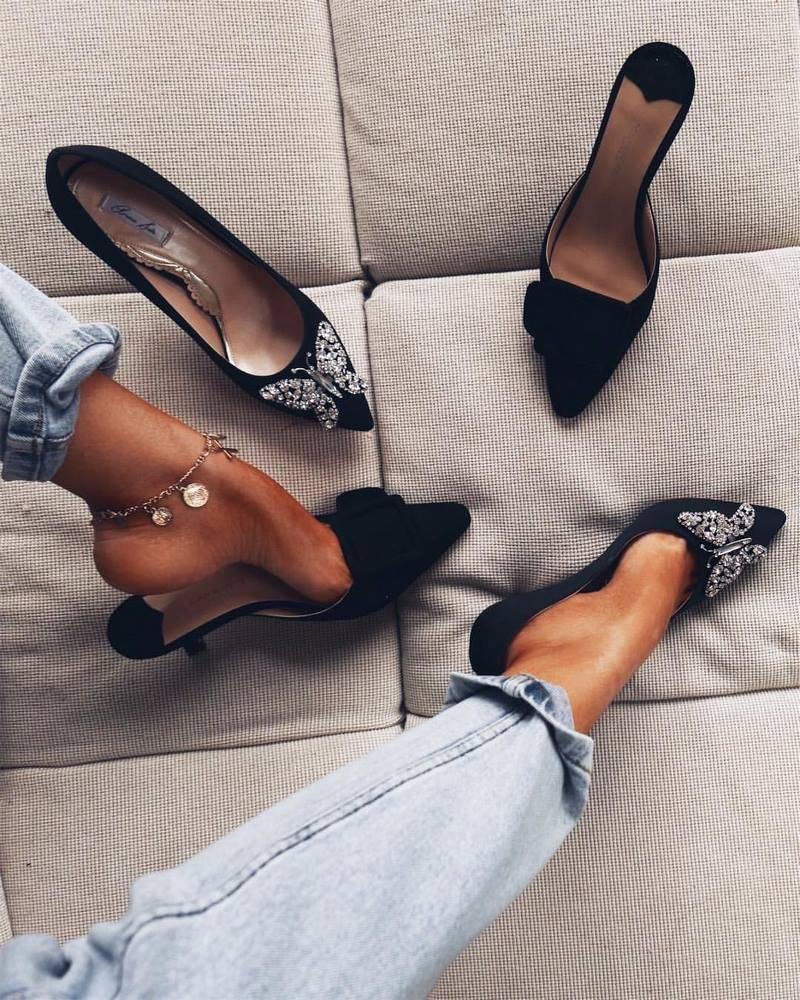Модные тренды последних сезонов — обувь для невесты