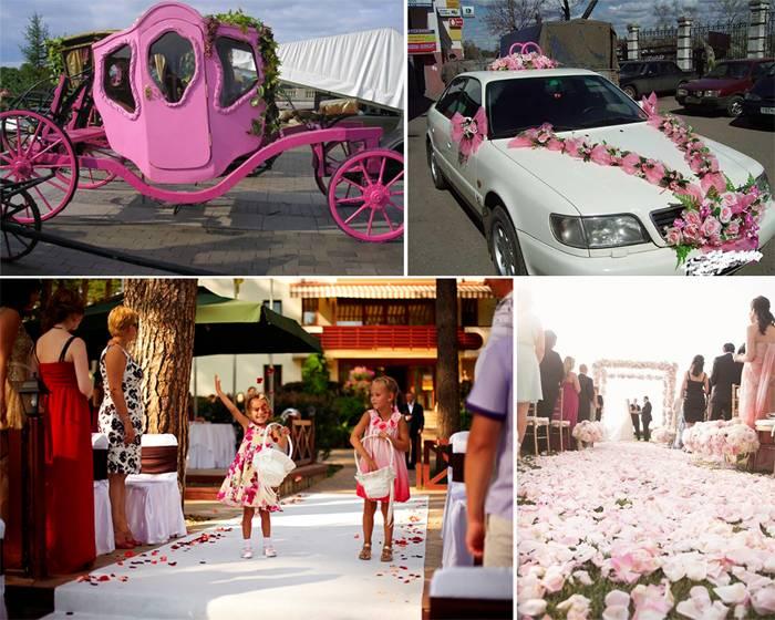 Свадьба в розовом цвете идеи 64 фото новинки