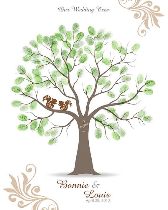 Дерево пожеланий на свадьбу своими руками: мастер-класс