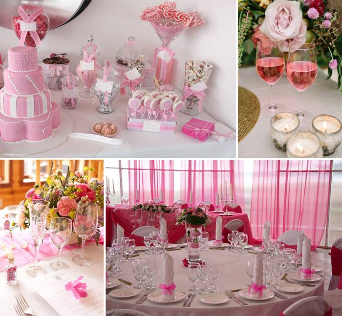 Пыльно-розовый цвет свадьбы