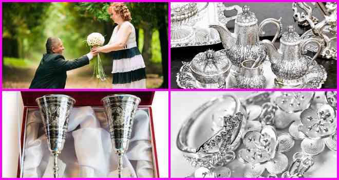 Серебряная свадьба: как отметить и что подарить?