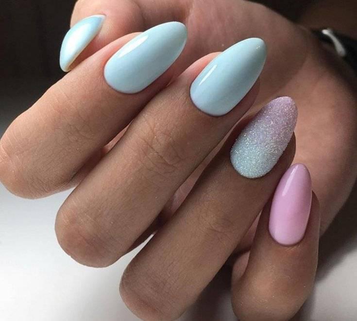 Утонченный нежный маникюр 2020-2021 года, модный нежный дизайн ногтей, фото, идеи | glamadvice