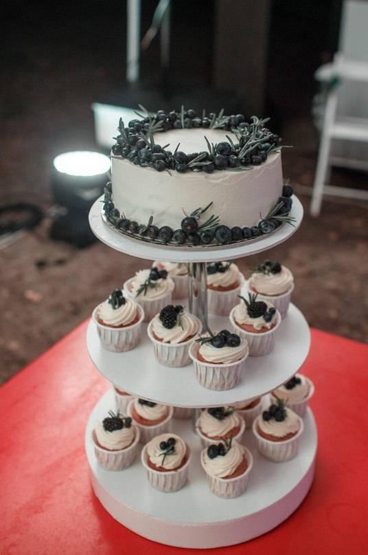 Как воплотить идею со свадебными капкейками