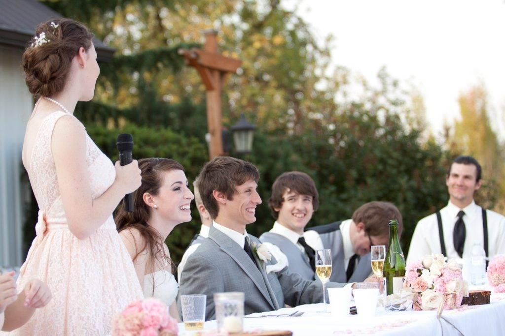 Свадебные тосты в честь родителей