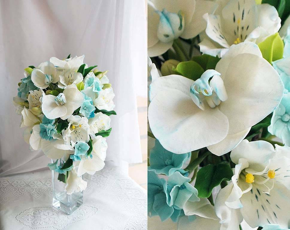 Создание букета для невесты своими руками, цветочный дублёр