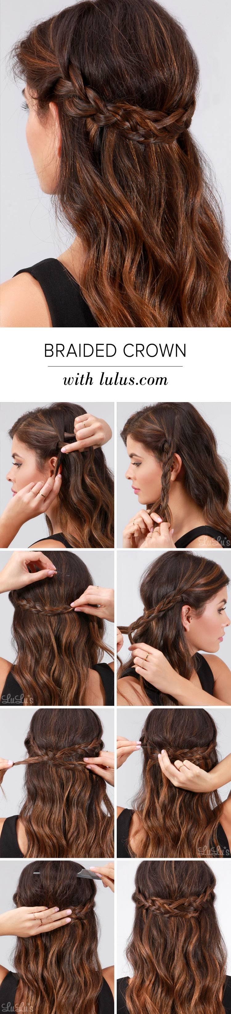 Прическа для невесты на короткие волосы