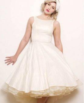 Свадебные платья в стилях 20-х – 70-х годов