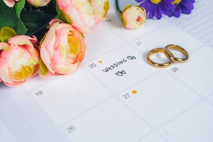 Благоприятные дни для свадьбы в 2018 по лунному и церковному календарям