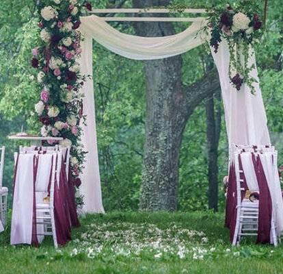 Свадебные арки: идеи оформления