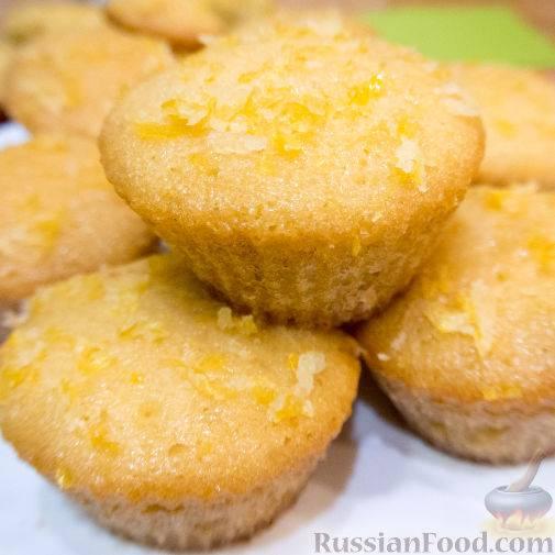 Ванильные капкейки: рецепт с фото пошагово