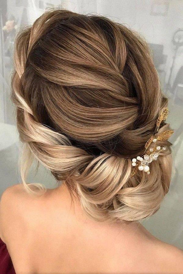 Модные свадебные прически 2017