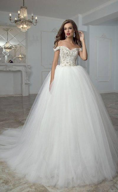 Свадебные платья 2020: фото моделей и красивых длинных фасонов